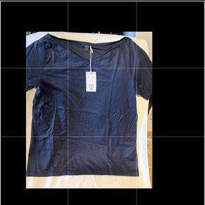 COS Navy Shirt • size M • NWT